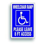 handicap decal