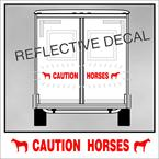 horse trailer decal